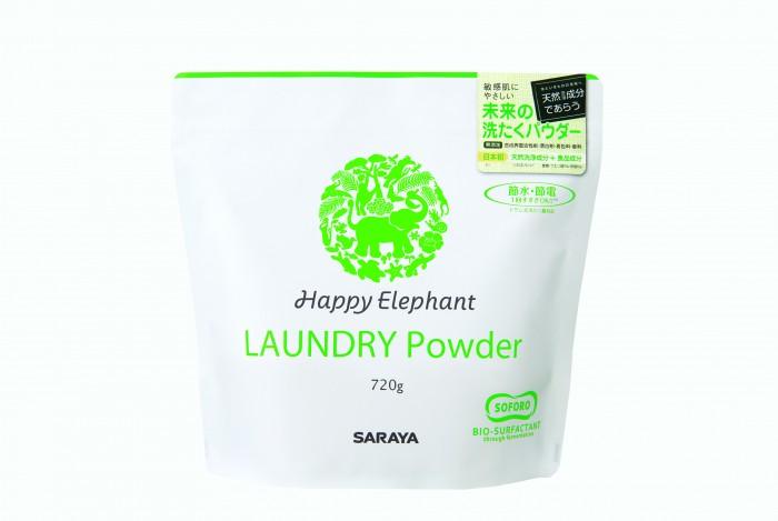 Бытовая химия Happy Elephant Laundry Powder Стиральный порошок 720 г лаурет 7 цитрат в косметике