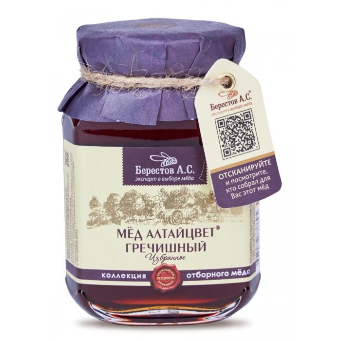 Мед, варенье, сиропы Берестов А.С. Мёд натуральный монофлорный Алтайцвет Гречишный 200 г луговица мед натуральный гречишный 250 г