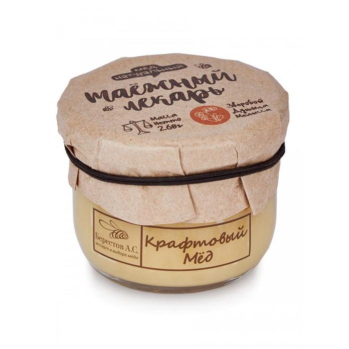 Мед, варенье, сиропы Берестов А.С. Мёд натуральный Крафтовый Таежный лекарь 260 г недорого