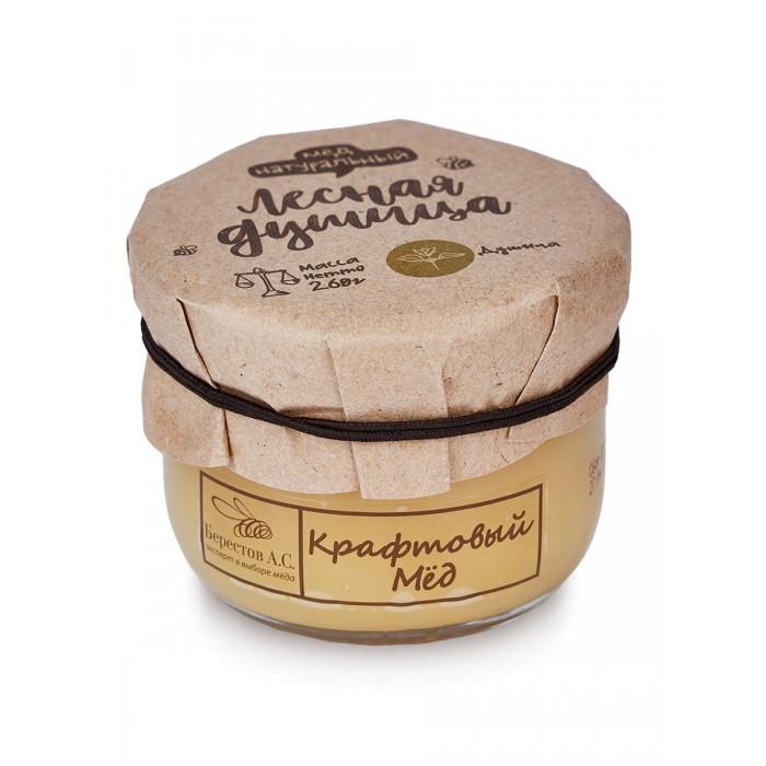 Мед, варенье, сиропы Берестов А.С. Мёд натуральный Крафтовый Лесная душица 260 г