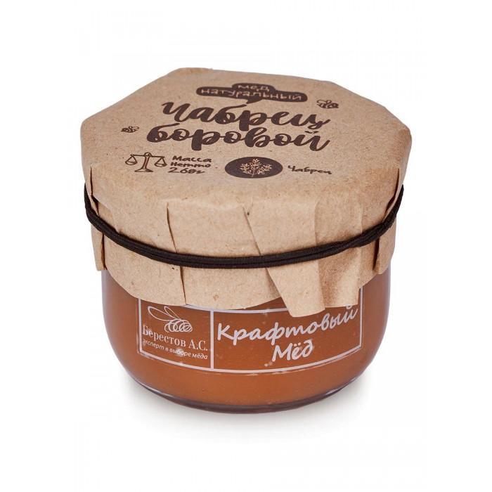 Мед, варенье, сиропы Берестов А.С. Мёд натуральный Крафтовый Чабрец боровой 260 г