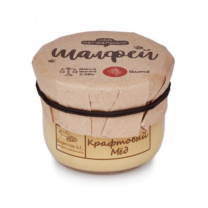 Мед, варенье, сиропы Берестов А.С. Мёд натуральный Крафтовый Шалфей 260 г