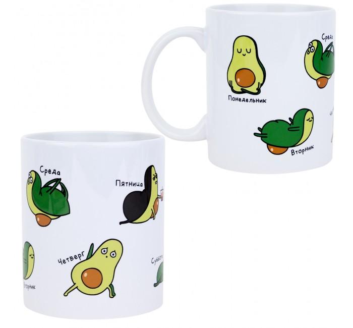 Посуда и инвентарь Kawaii Factory Кружка Неделя с авокадо