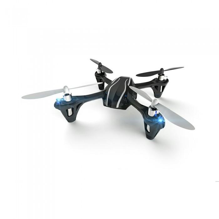 Hubsan Квадрокоптер HBS-H107LКвадрокоптер HBS-H107LHubsan Квадрокоптер HBS-H107L - радиоуправляемая игрушка, напоминающая технику будущего. Отличный дизайн, встроенные светодиоды, мощные пропеллеры зовут желающих поразвлечься.   Пилотируемый аппарат можно запускать ночью, свечение лампочек поможет определить направление модели и местоположение во время полета. Электронная система стабилизации дает гарантию успешного полета даже неопытному пилоту.  Особенности: Hubsan H107L оснащен полезными функциями, начинкой: процессор 2,4 ГГц, 6 оси гироскопа, прочный материал корпуса, отменные LiPo батареи, возможность движения по четырем направлениям, разворота на 360 градусов, тяговые двигатели вступают в борьбу с ветром.  Устройство легко перезаряжается через кабель usb.  Несмотря на маленькие габариты H107L быстр и надежен. Случайные удары не смогут нанести фатальных повреждений корпусу и механизмам. Батарея высокой производительности Сопротивление ветру Светодиодные индикаторы 6-осный гироскоп Миниматюрные габариты Возможность исполнения трюков  Комплектация: Аккумулятор Инструкция USB-кабель Квадрокоптер  Дополнительная информация: Схема: соосная Корпус и лопасти выполнены из пластика высоких прочностных характеристик Функции: подсветка, гироскоп Двигатель: Coreless 4х Аккумулятор: 3.7V 240mAh Длительность полета: 7 мин Время зарядки: 40 мин Радиоуправление дальностью до 100 м Каналов управления: 4  Размеры: 355х180х90 мм<br>