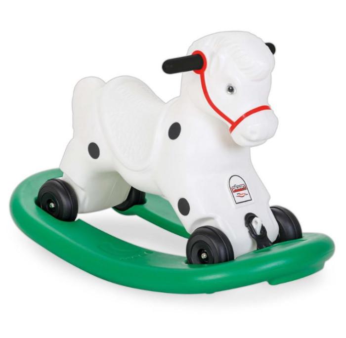 Каталки Pilsan Лошадка качалка с белой гривой каталки pilsan качалка слон