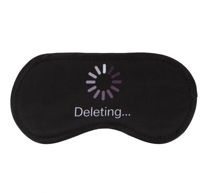 Фото - Аксессуары Kawaii Factory Маска для сна Deleting аксессуары kawaii factory маска для сна deleting