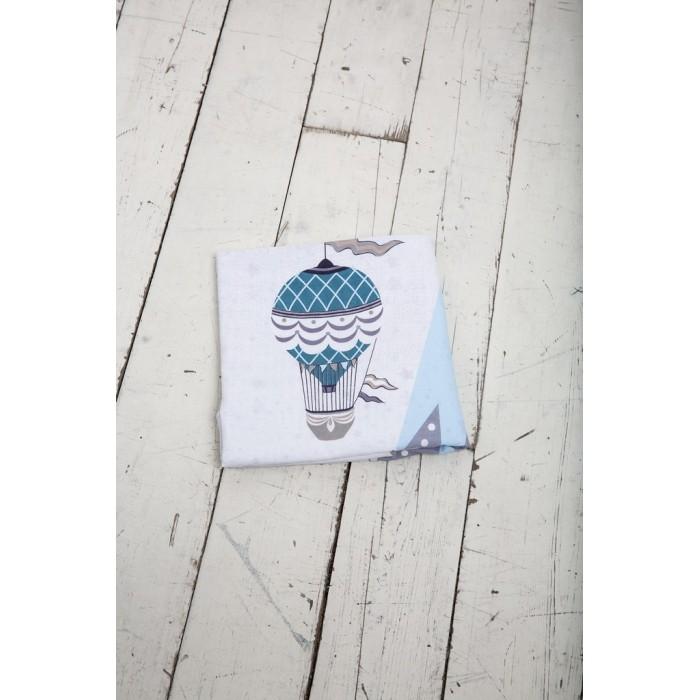 Картинка для Постельное белье Вомбатик Пододеяльник на молнии Путешественники 142х112 см