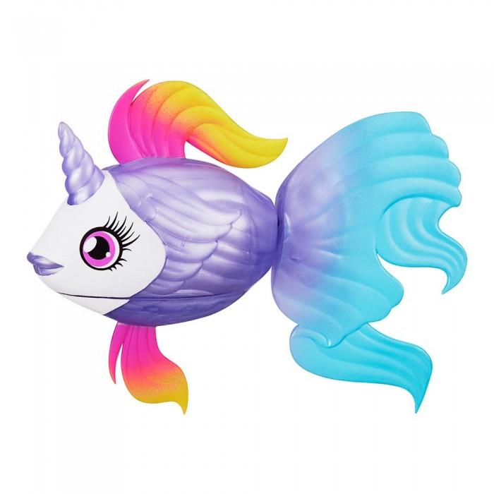 Картинка для Игрушки для ванны Little live Pets Набор рыбка-единорожка в аквариуме Lil Dippers