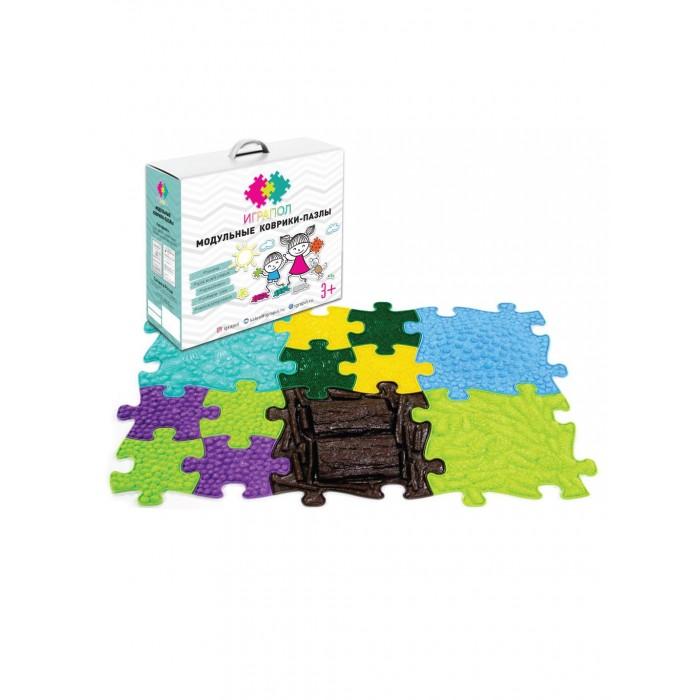 Картинка для Ортопедические коврики ИграПол Модульный коврик-пазл Микс 1