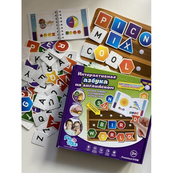 Картинка для Настольные игры Pic`n Mix Игра настольная развивающая Интерактивная азбука на английском
