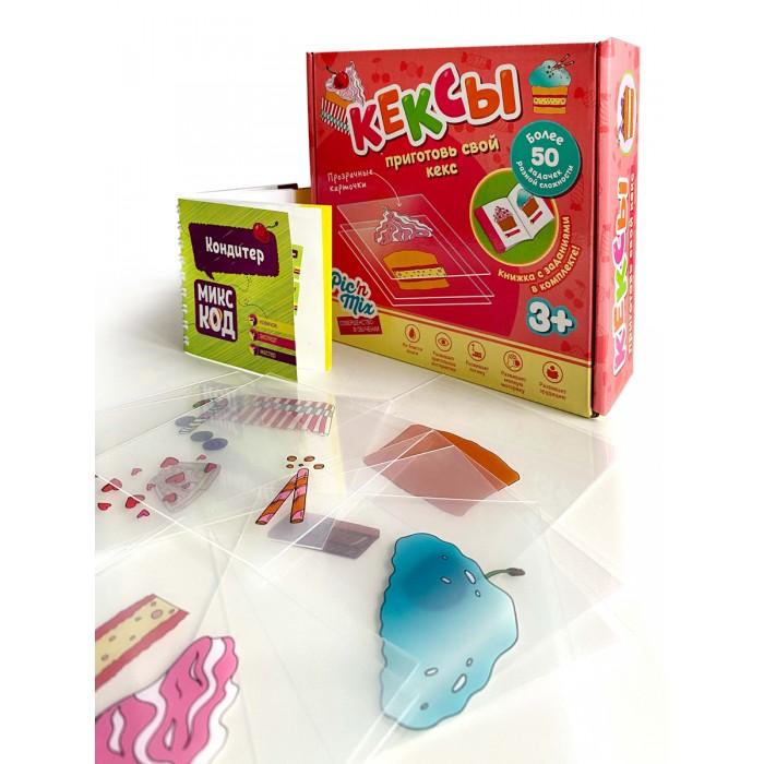 Картинка для Развивающие игрушки Pic`n Mix Пазл конструктор Микскод Кексы