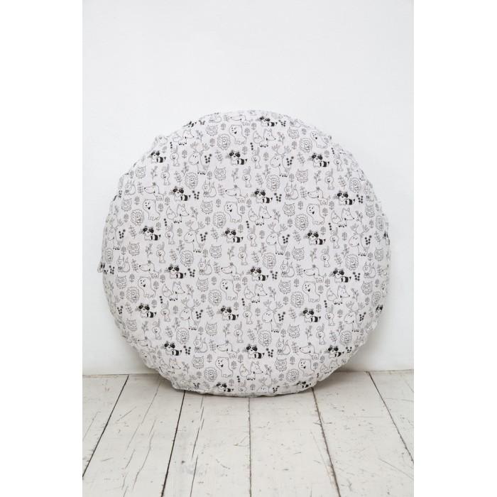 Картинка для Простыни Вомбатик Простынь на резинке Звери и звезды 75х75х12 см