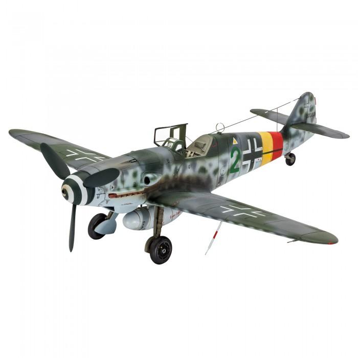 Картинка для Сборные модели Revell Сборная модель самолета Мессершмитт Bf 109 G-10 1:48