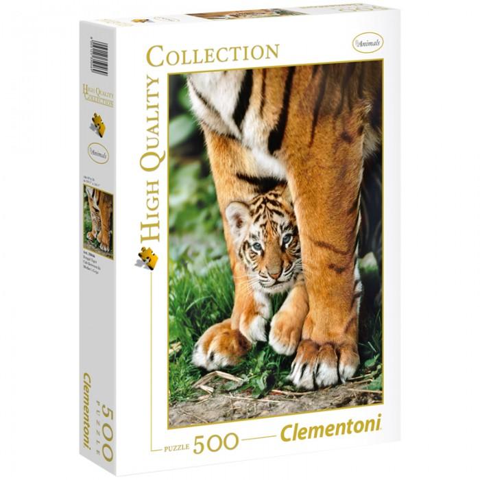Clementoni Пазл Классика Бенгальский тигренок (500 элементов)