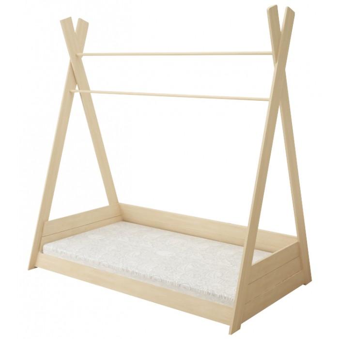 Картинка для Кровати для подростков Forest Вигвам неокрашенная 160х80