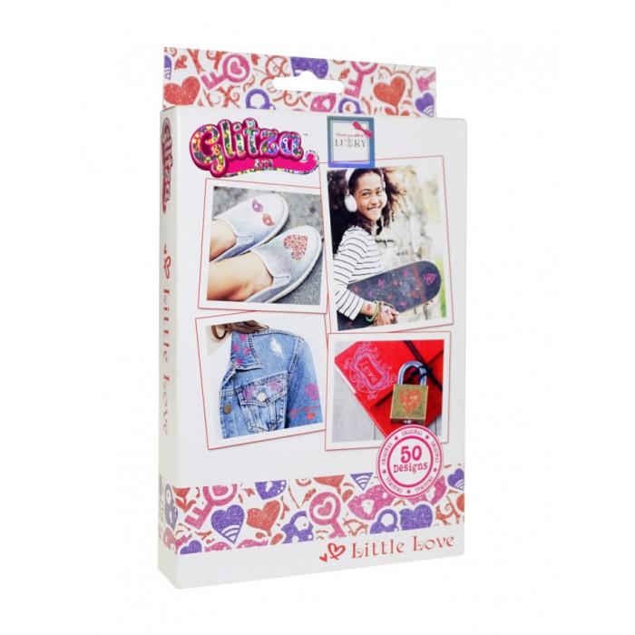 Картинка для Наборы для творчества Glitza Art Lukky Набор тату Маленькая любовь 50 дизайнов