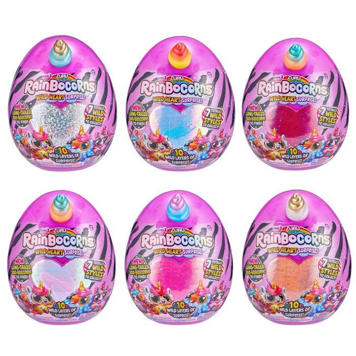 Картинка для Мягкие игрушки Zuru RainBocoRns Игровой набор Сюрприз в яйце