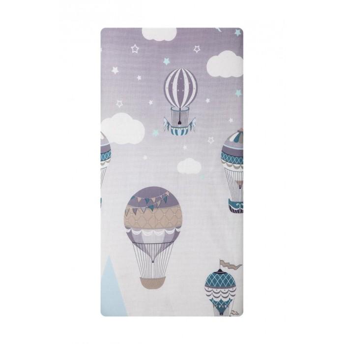 Картинка для Простыни Вомбатик Простынь на резинке универсальная Путешественники 125х75х12 см