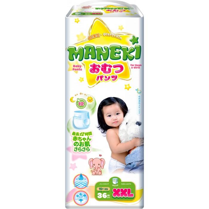 Подгузники-трусики Maneki Подгузники-трусики XXL (15 + кг) 36 шт.