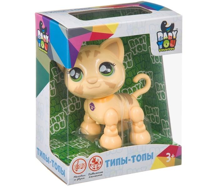 Bondibon Котёнок Baby you озвученный