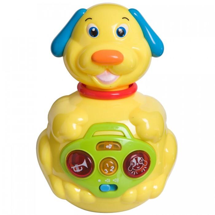 Купить Развивающие игрушки, Развивающая игрушка Bondibon неваляшка Собачка