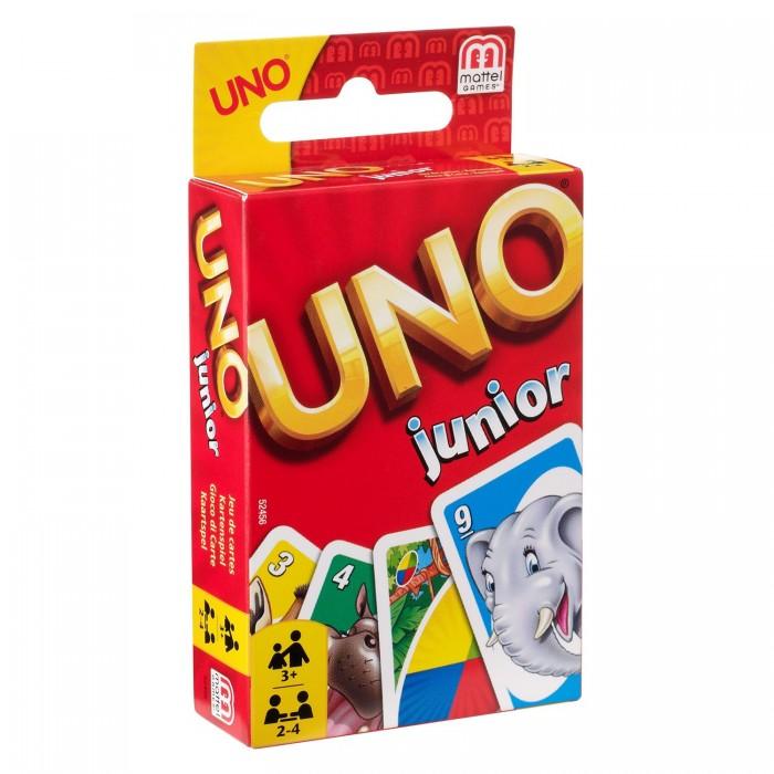 Настольные игры Mattel Игра настольная Uno Junior mattel games 52456 уно для детей