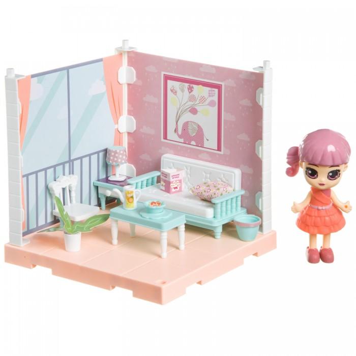 Фото - Кукольные домики и мебель Bondibon Набор мебели Oly Кукольный уголок с куколкой Гостиная набор игровой bondibon кукольный уголок гостиная и куколка oly