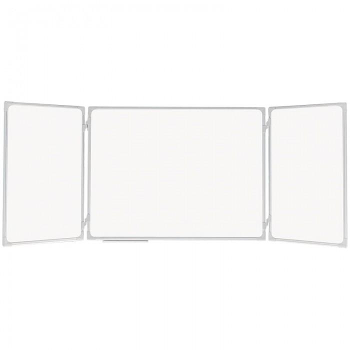 Купить Доски и мольберты, 2х3 Доска магнитно-маркерная Office трехсекционная 240х90/90х60х2 см