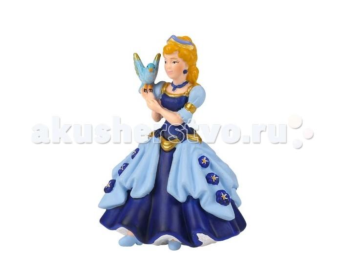 Игровые фигурки Papo Игровая реалистичная фигурка Голубая принцесса с птицей игровые фигурки papo игровая фигурка принцесса на коньках