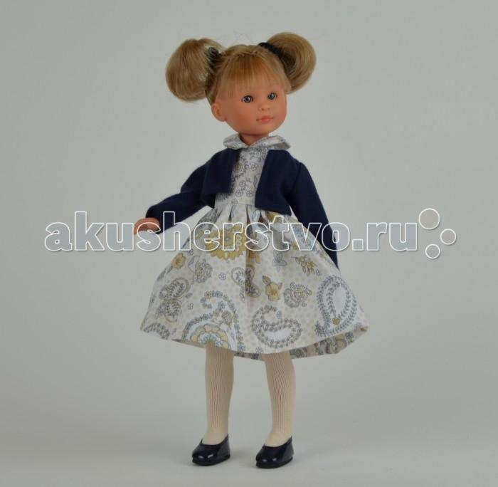 ASI Кукла Селия 30 см 163010Кукла Селия 30 см 163010Кукла, размер 30 см, выполнена из винила, светлые волосы собраны в два хвостика, в голубом платье, в красивой подарочной коробке.<br>