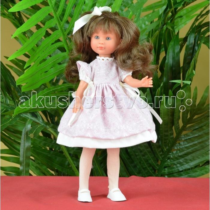 ASI Кукла Селия 30 см 163110Кукла Селия 30 см 163110Кукла, размер 30 см, выполнена из винила, длинные темные волосы, в нарядном розовом платье, в красивой подарочной коробке.<br>