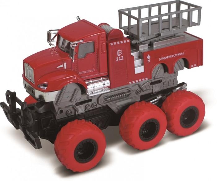 Картинка для Машины Funky Toys Пожарная машина с подъемным механизмом с краш-эффектом