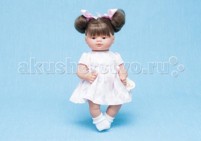 ASI Кукла Джулия 36 см 242940Кукла Джулия 36 см 242940Кукла, размер 36 см, выполнена из винила, темные волосы собраны в два хвостика, в розовом платье, в красивой подарочной коробке.<br>