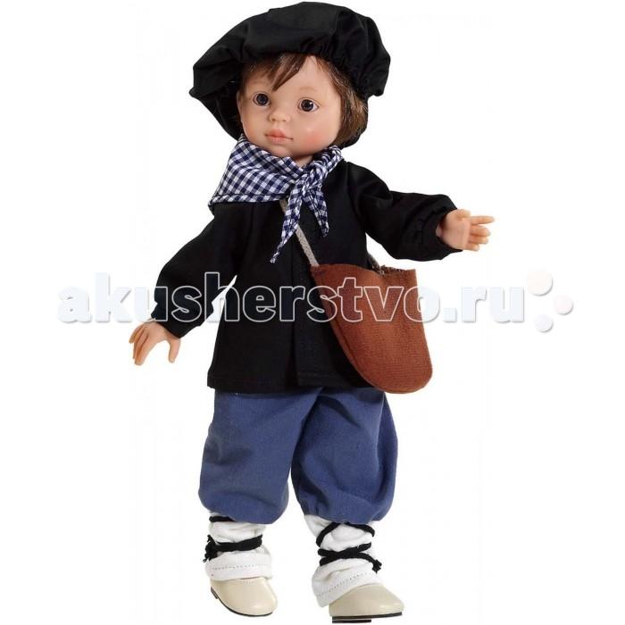 Куклы и одежда для кукол Paola Reina Кукла Оленчеро без бороды 32 см paola reina горди без одежды 34 см 34021