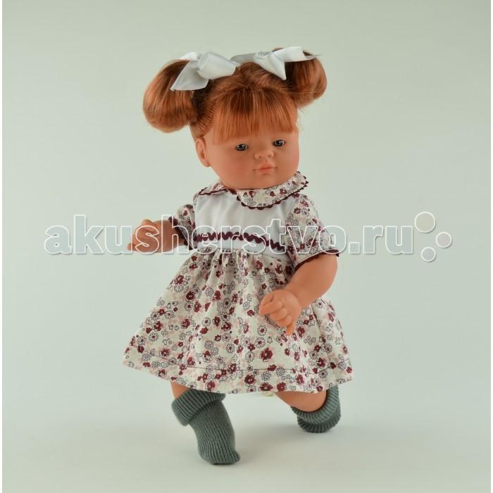 ASI Кукла Джулия 36 см 243240Кукла Джулия 36 см 243240Кукла, размер 36 см, выполнена из винила, рыжие волосы собраны в два хвостика, в цветном платье, в красивой подарочной коробке.<br>