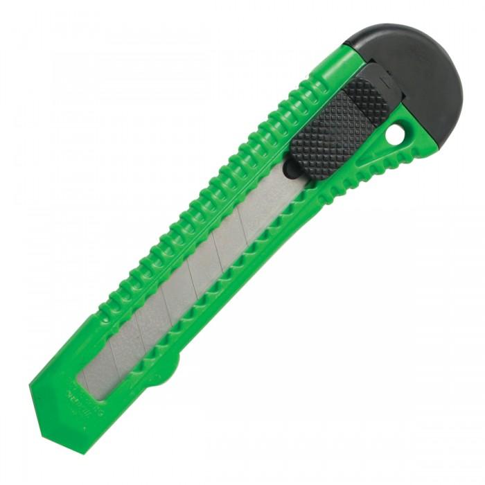 Канцелярия Staff Нож канцелярский с фиксатором Basic 18 мм нож staff 9mm 237081