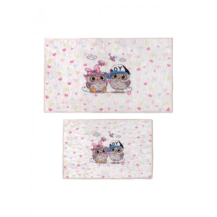 Аксессуары для ванн Decovilla Набор ковриков ванной и туалета ТК-0008