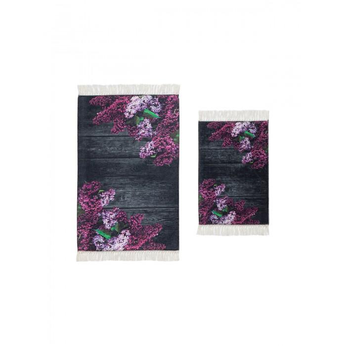 коврики для ванной и туалета tango коврик для ванной lola набор Аксессуары для ванн Decovilla Набор ковриков для ванной и туалета ТК-0024