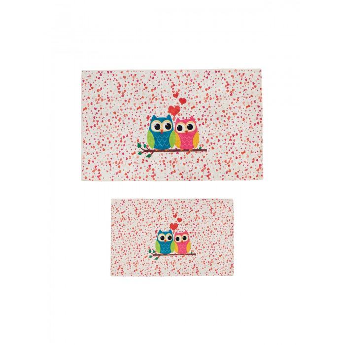Аксессуары для ванн Decovilla Набор ковриков ванной и туалета ТК-0025