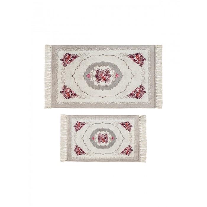 Аксессуары для ванн Decovilla Набор ковриков ванной и туалета ТК-0029