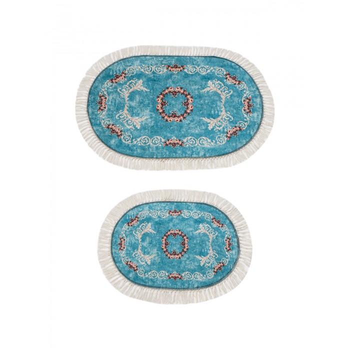 Купить Аксессуары для ванн, Decovilla Набор ковриков для ванной и туалета ТК-0032