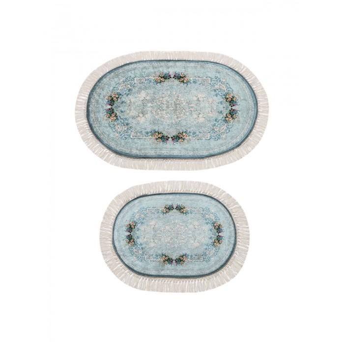 коврики для ванной и туалета tango коврик для ванной lola набор Аксессуары для ванн Decovilla Набор ковриков для ванной и туалета ТК-0039