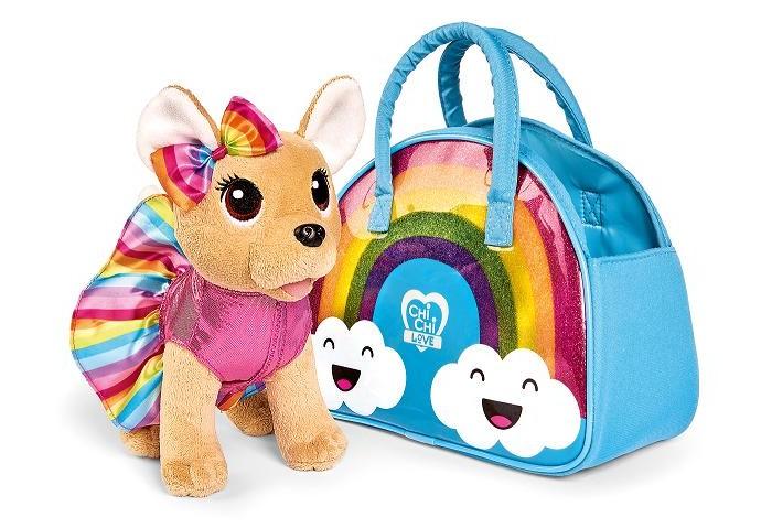 Картинка для Мягкие игрушки Chi-Chi Love Плюшевая собачка на радуге 20 см