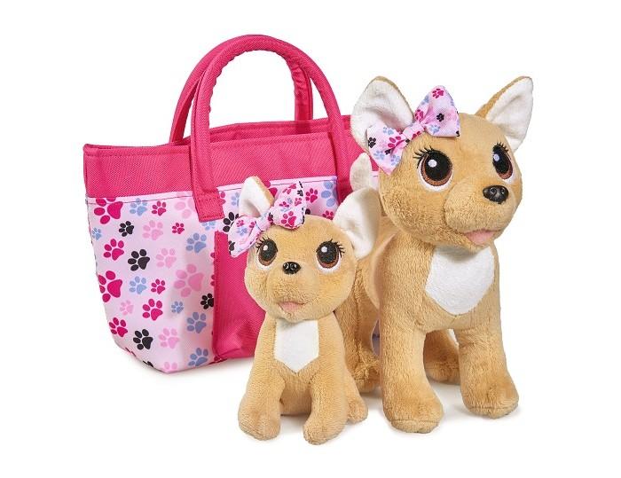 Мягкие игрушки Chi-Chi Love Плюшевые собачки Счастливая семья фото