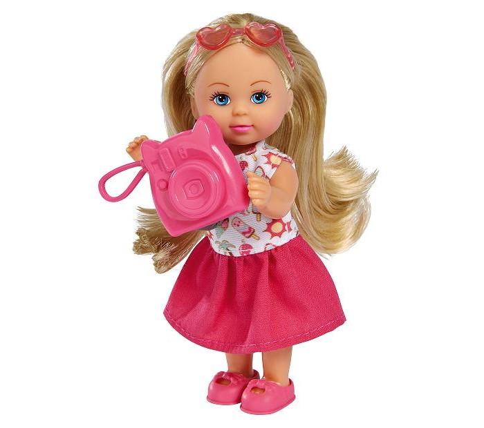 Купить Куклы и одежда для кукол, Simba Кукла Еви Маленькая путешественница 12 см