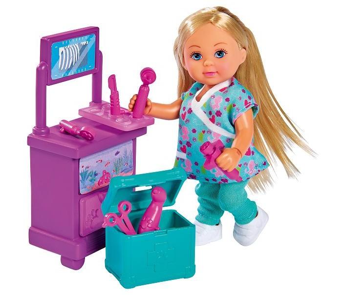 Картинка для Куклы и одежда для кукол Simba Кукла Еви Доктор в клинике 12 см