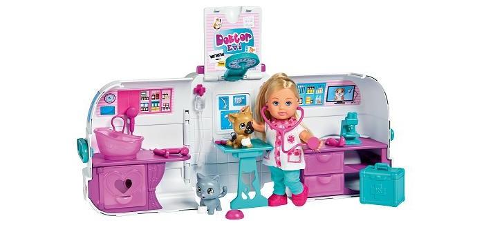 Картинка для Куклы и одежда для кукол Simba Кукла Еви Мобильный доктор 12 см