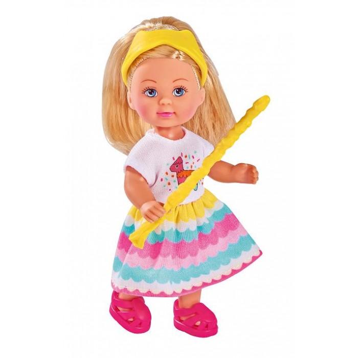 Картинка для Куклы и одежда для кукол Simba Кукла Еви Пиньята с сюрпризом 12 см