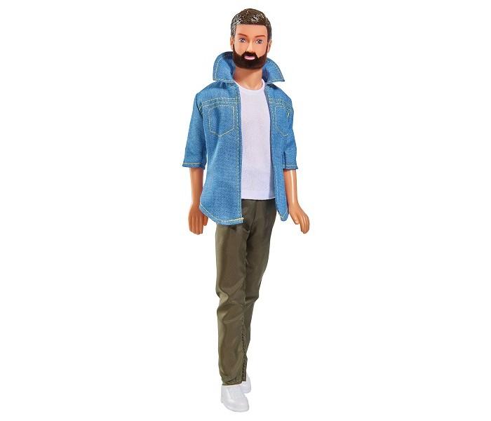 Купить Куклы и одежда для кукол, Simba Кукла Кевин с бородой в брюках 30 см