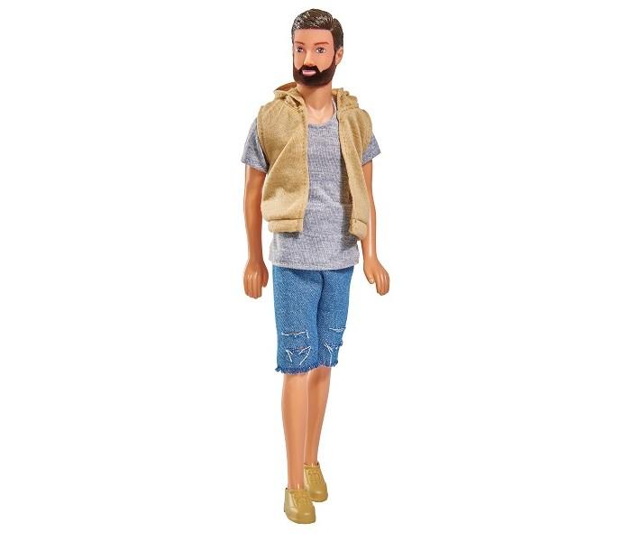 Купить Куклы и одежда для кукол, Simba Кукла Кевин с бородой в шортах 30 см